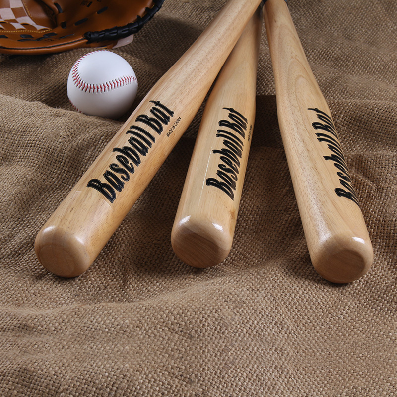 橡木棒球棒加厚防身打架武器防卫实心车载棒球棍实木硬木棒球杆