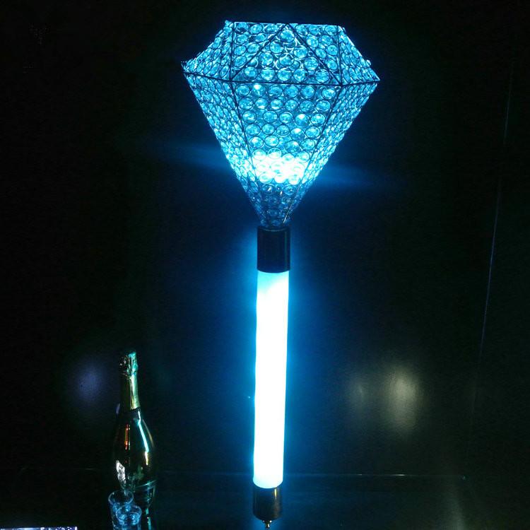 新款led酒吧发光权杖酒架充电送酒权杖香槟魔杖酒架夜场酒吧酒托