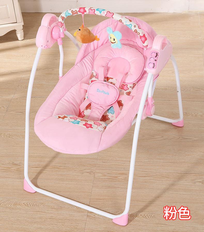 哄娃神器婴儿摇摇椅安抚椅婴儿摇篮宝宝睡觉神器哄睡躺椅自动摇椅