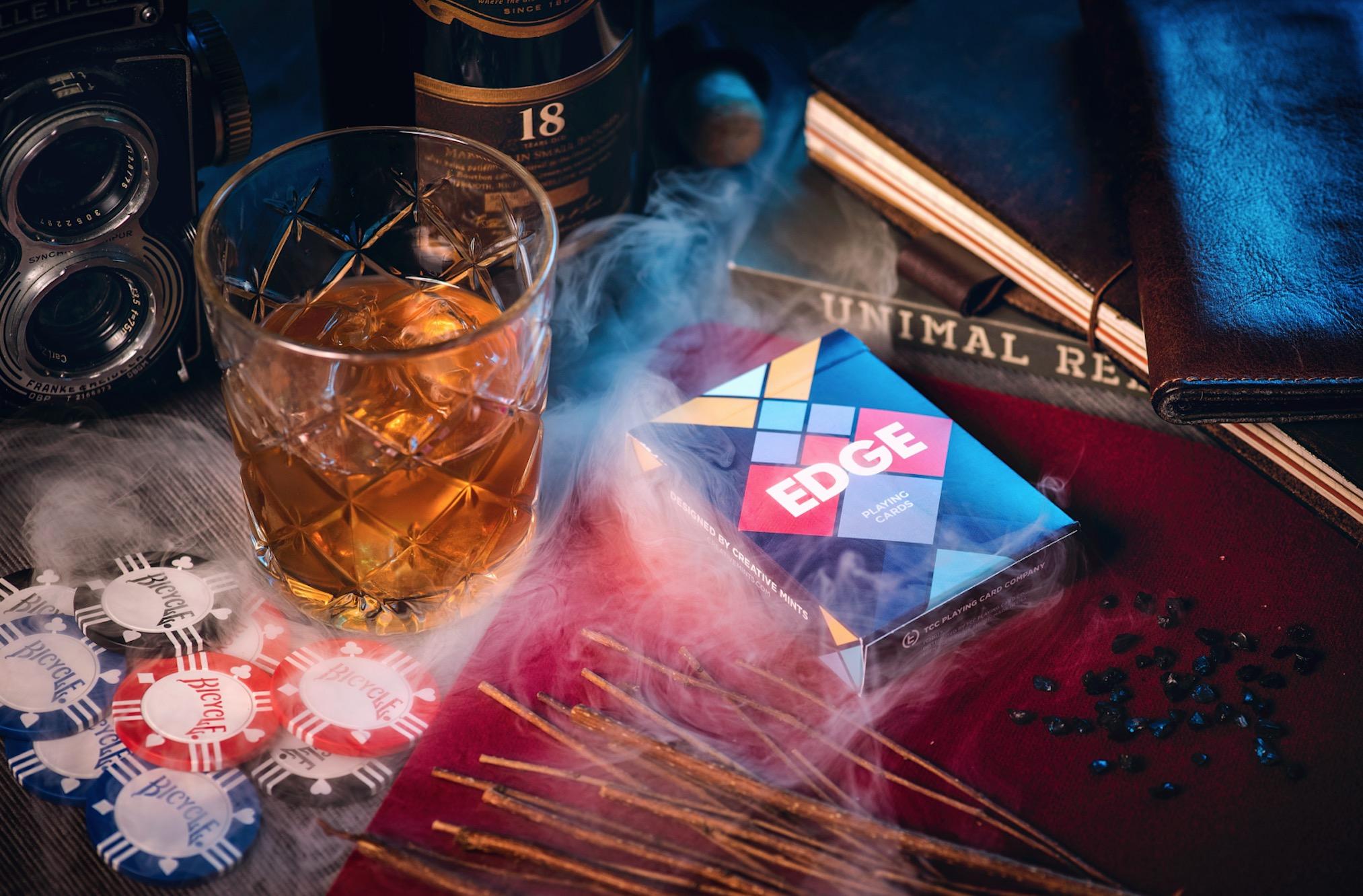 【现货】TCC扑克 EDGE Deck 美国进口魔术花切扑克牌