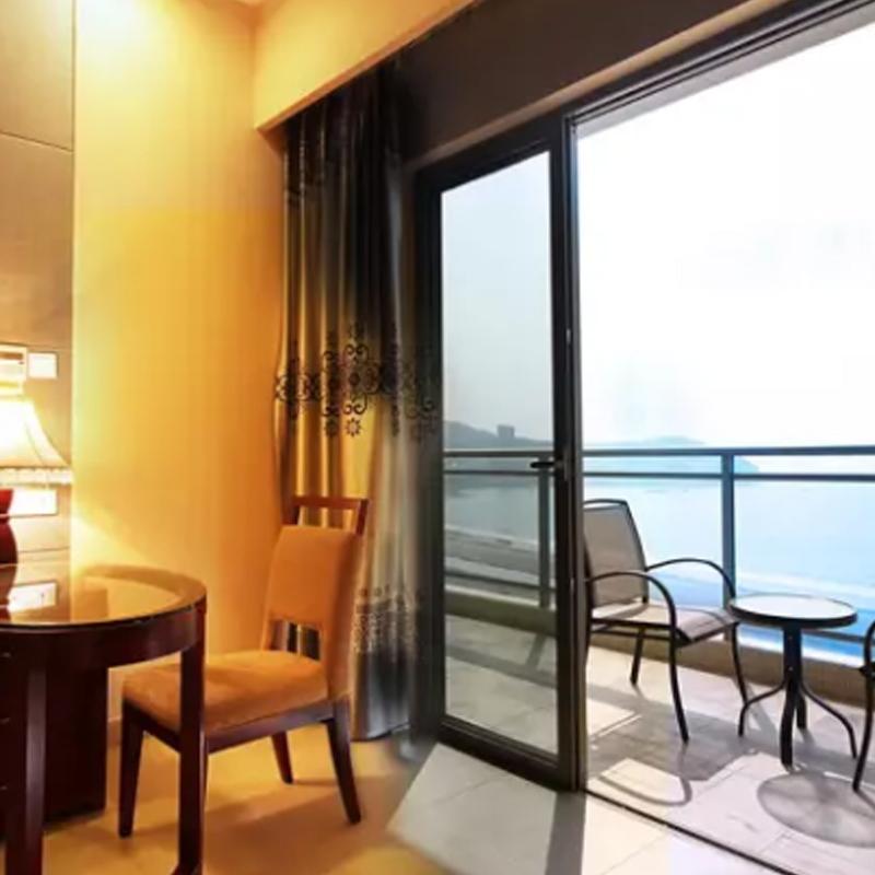 近广东闸坡大角湾沙滩景区 海景山景套房 阳江海陵岛蓝波湾大酒店