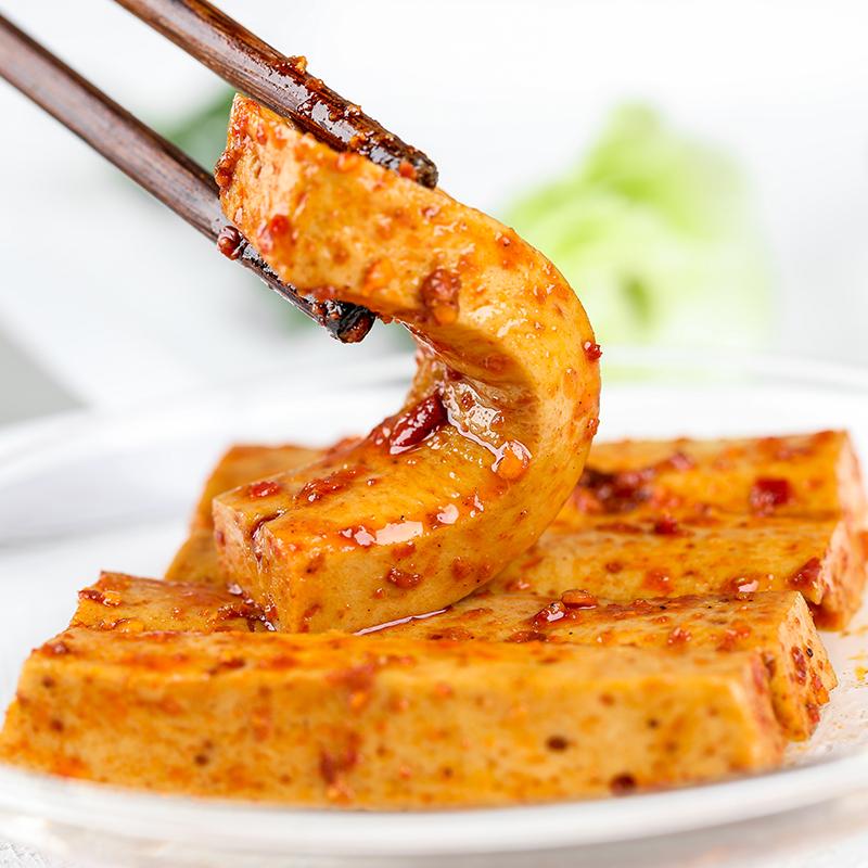 香香嘴q弹豆干1000g四川豆腐干麻辣小零食散装小吃小包装五香特产