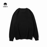 KERWATS sweater sweater men's new round neck sweater shirt tide brand fat casual simple bottoming shirt