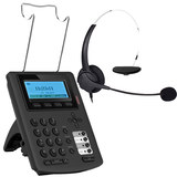 SIP Phone call center IP phone with headsets Voice over IP SIP VOIP telephone network telephone E300