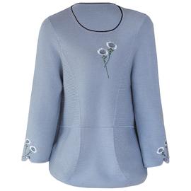 妈妈春装洋气针织打底衫毛衣中年女装2020新款外穿中老年长袖上衣