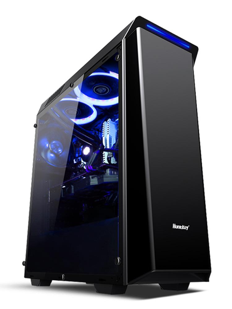 台式吃鸡组装电脑主机全套 GTX1070Ti 2700 R7 锐龙 AMD 攀升 IPASON