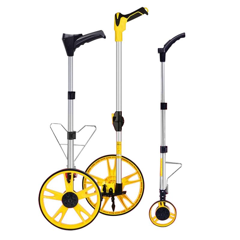 测距轮机械式滚动推尺滚轮测距仪手推滚轮式测量尺滚数显手持测量