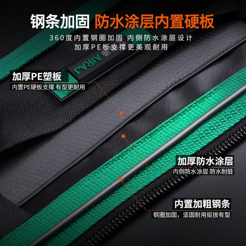 手提电工专用工具包多功能维修安装帆布大加厚工具袋工作腰包小号