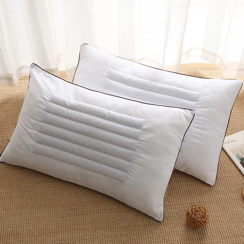 家用荞麦壳枕芯一对护颈枕单人枕头枕套两件套学生宿舍一只装荞麦