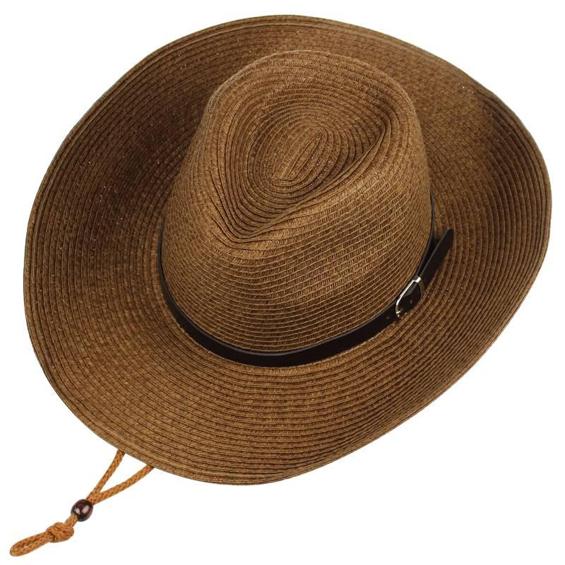 遮阳帽男夏季可折叠帽子男潮太阳帽
