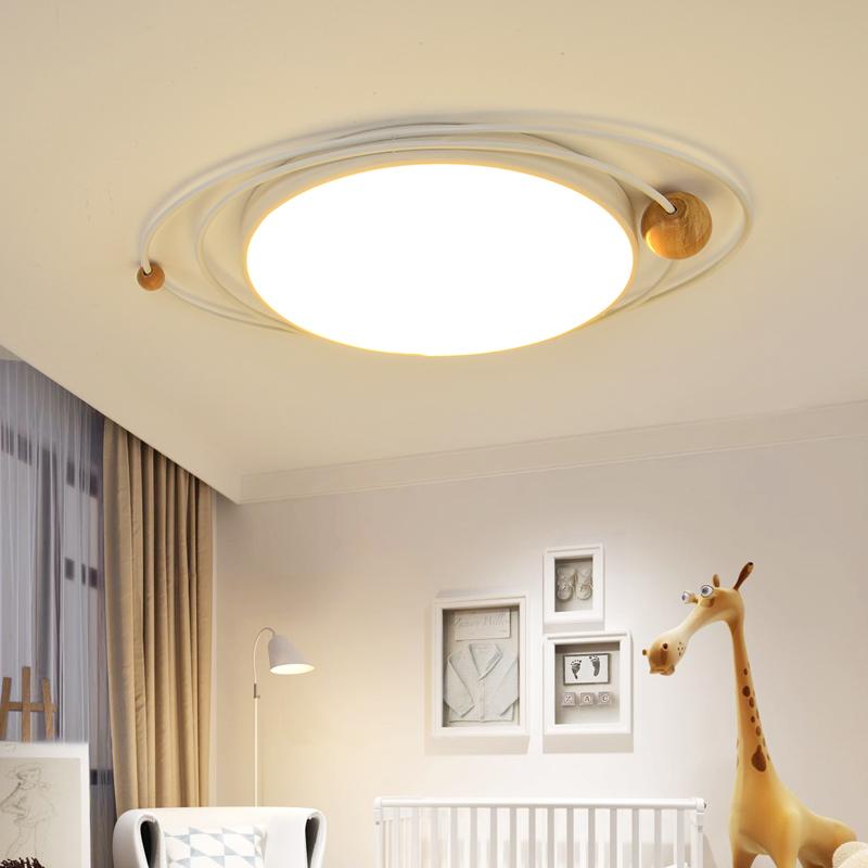 家用书房餐厅日式灯具 led 北欧主卧室灯吸顶灯简约现代房间灯圆形