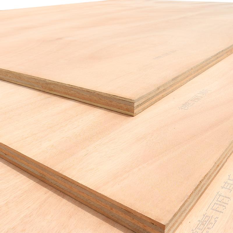 德丽斯板材15mm全桉厚芯可贴面实木多层板胶合板家具级衣橱板