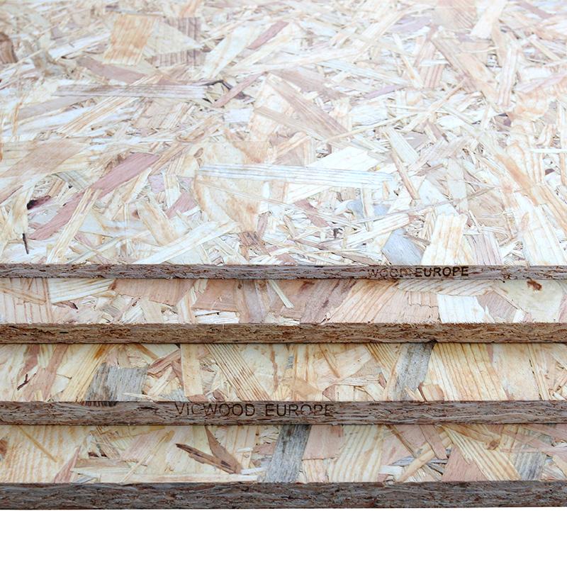德丽斯板材15mm进口欧松板E0级OSB实木板定向刨花板家具板装饰板