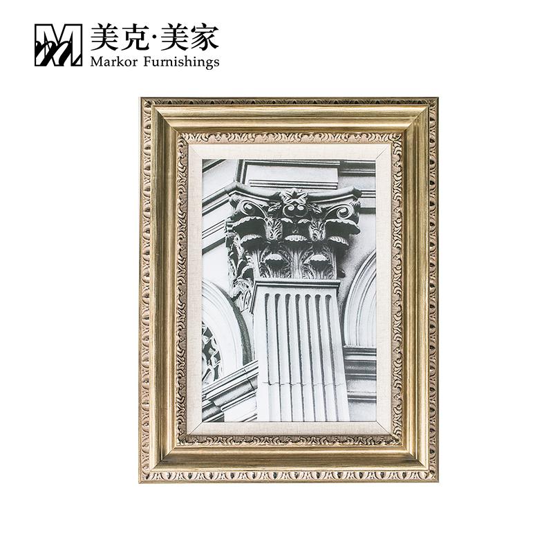 夏季促销-美克美家建筑一角装饰画沙发背景画挂画MKA03-02-0015