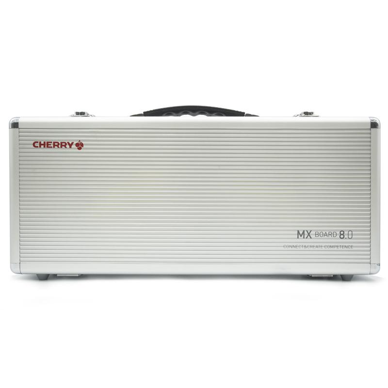 CHERRY樱桃 8.0 RGB彩光87键合金游戏机械键盘 黑轴青轴茶轴红轴