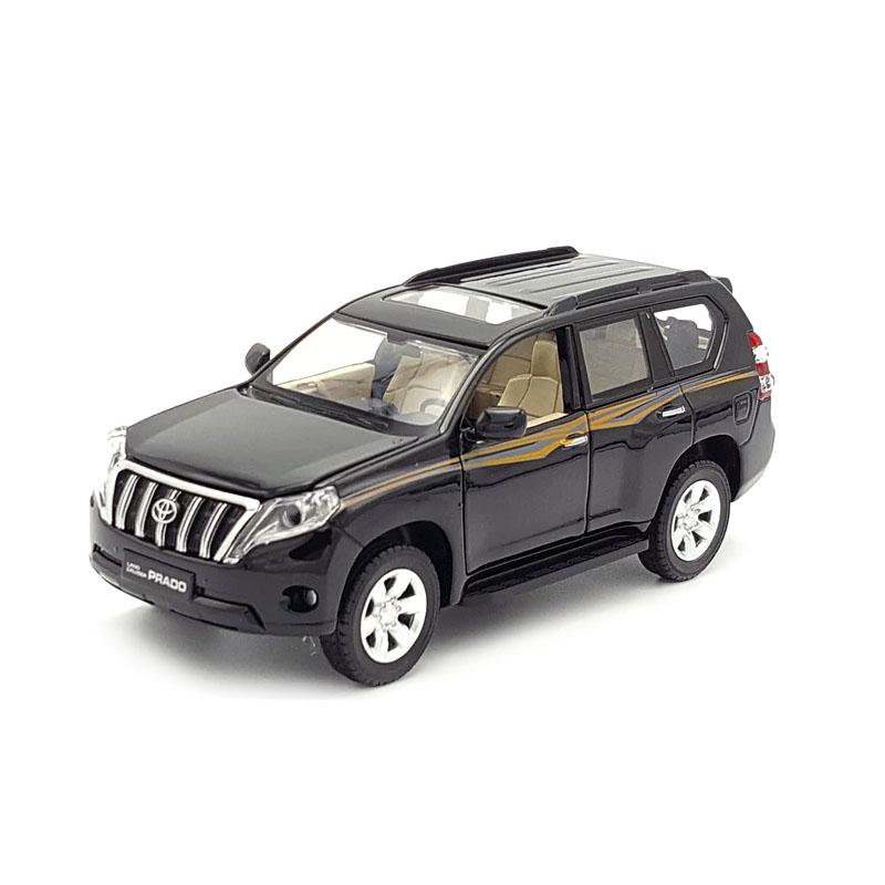 1:32丰田霸道普拉多汉兰达合金汽车模型SUV仿真金属车模摆件玩具