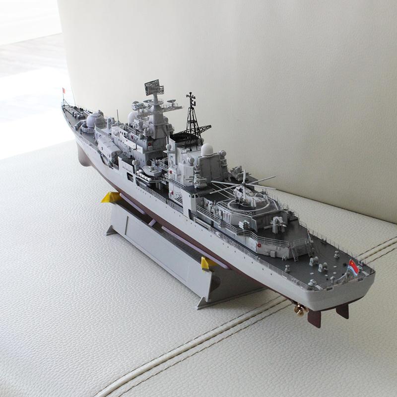 小号手拼装战舰模型 1/350仿真军舰 中国海军139宁波号导弹驱逐舰
