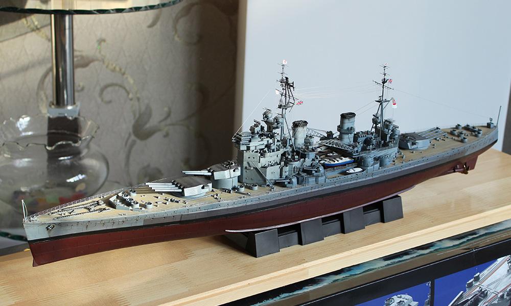 小号手军舰模型1/350英国二战海军乔治五世号战列舰80605军事战舰