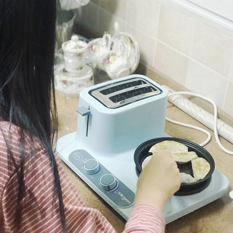 东菱轻食机三明治机多功能小型家用吐司烤面包机华夫饼机早餐机主图