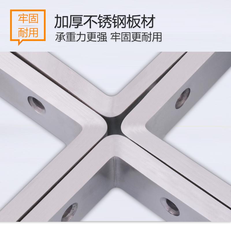 不锈钢三角架支架托架墙上壁承重支撑直角捞定层板隔板置物三脚架