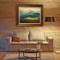 橙舍沙发背景墙装饰画欧式客厅风景油画美式餐厅挂画玄关 巨人山