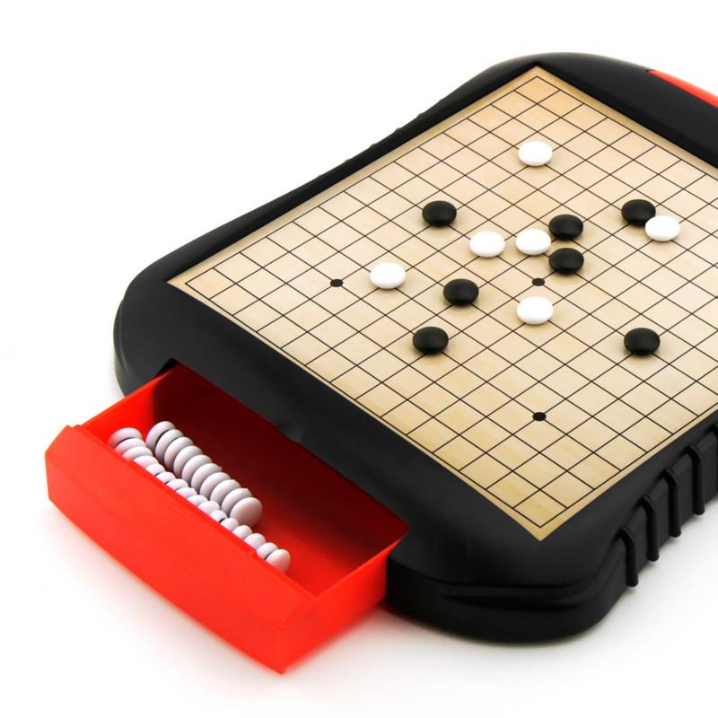 儿童磁性飞行棋五子棋斗兽棋跳棋益智桌面玩具抽屉式收纳生日礼物