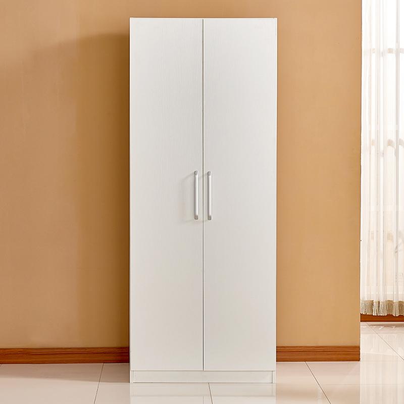 美福豪防晒阳台柜杂物储物柜简易2门衣柜整体3门衣橱收纳定做W-31