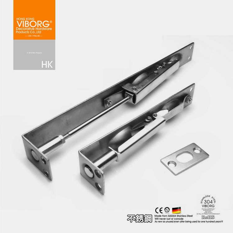*【香港域堡】304不锈钢盒L型暗藏插肖门插销门栓/门扣/门闩QS-TB