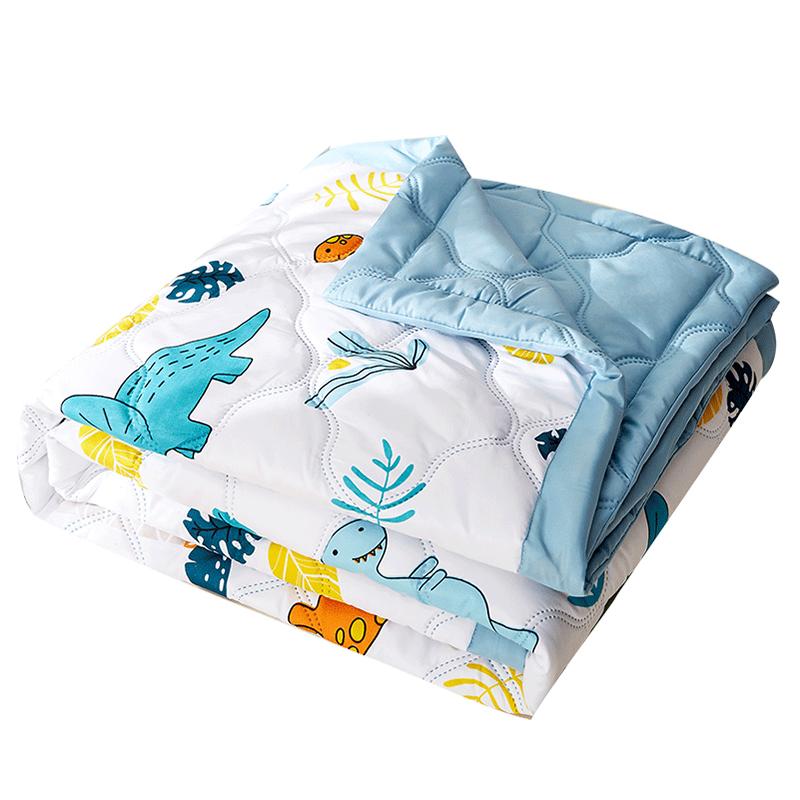 空调被子夏凉被芯夏季薄款宿舍单人学生夏天春秋水洗棉双人可机洗