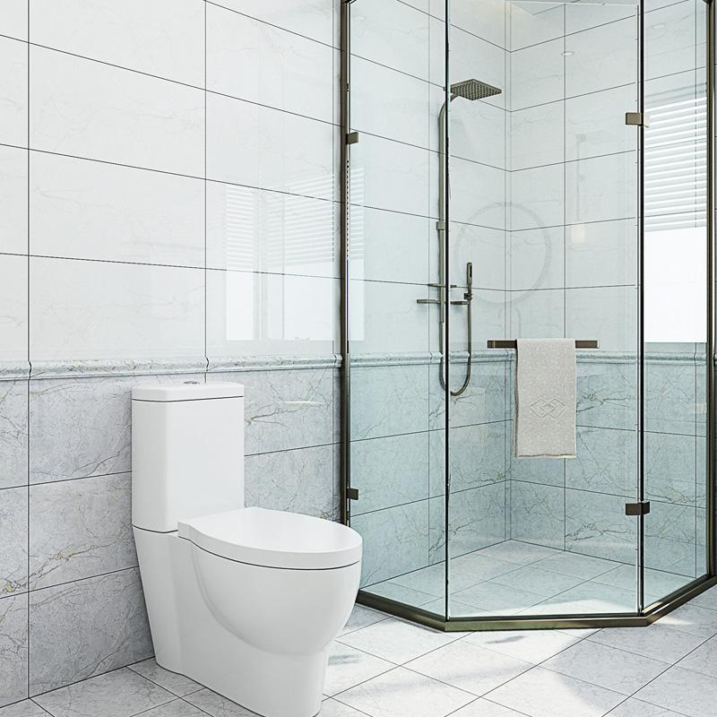 小米瓷砖 大理石墙砖灰色厨房卫生间浴室厨卫地砖300x600 JD3602