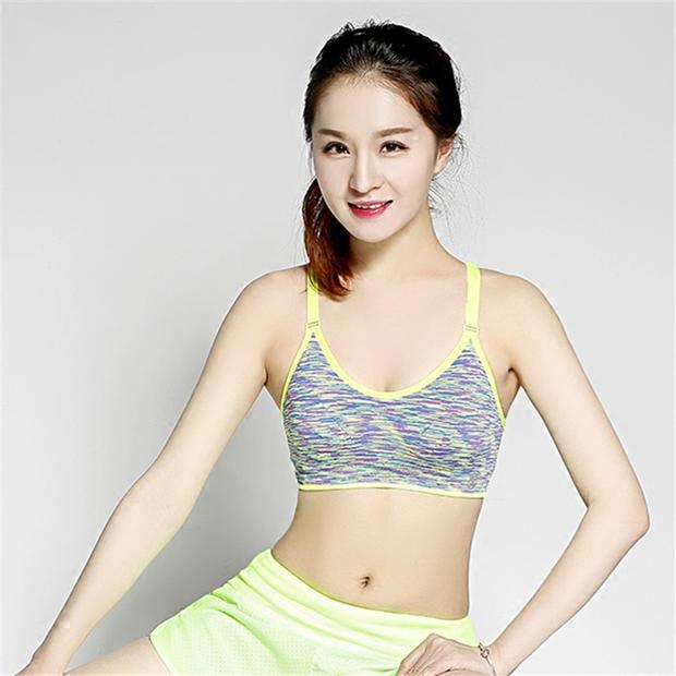 新款包郵美背專業速幹防震運動文胸健身跑步內衣瑜伽文胸
