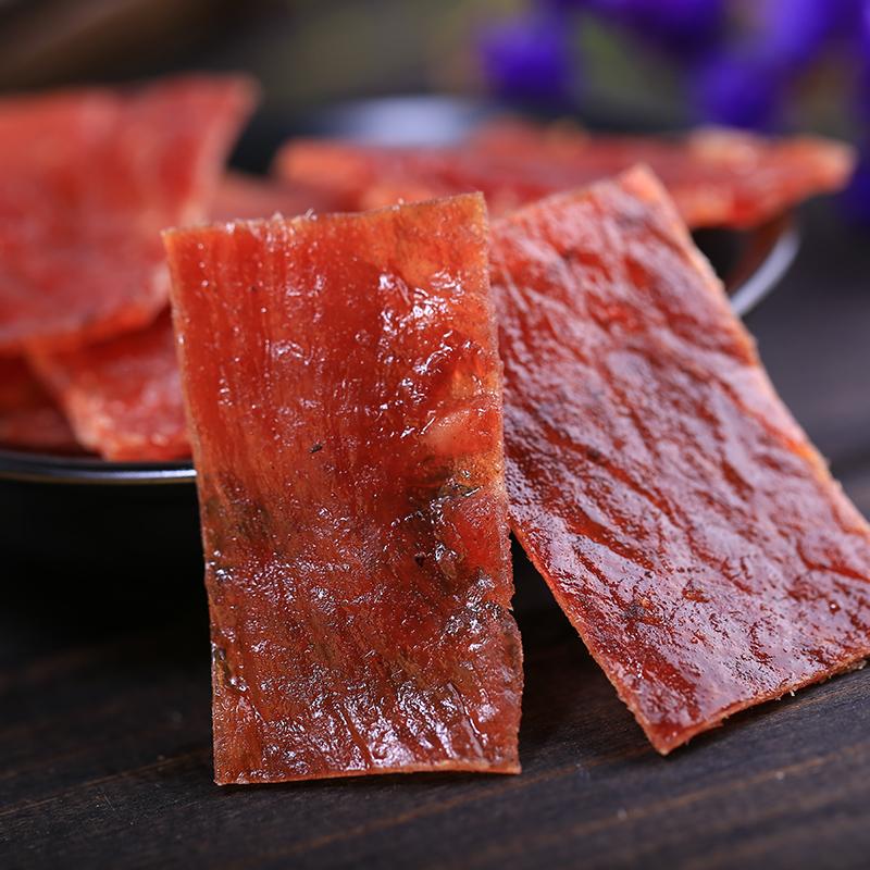 网红猪肉脯500g零食蜜汁手撕肉干5斤散装吃货碎零食小吃休闲食品
