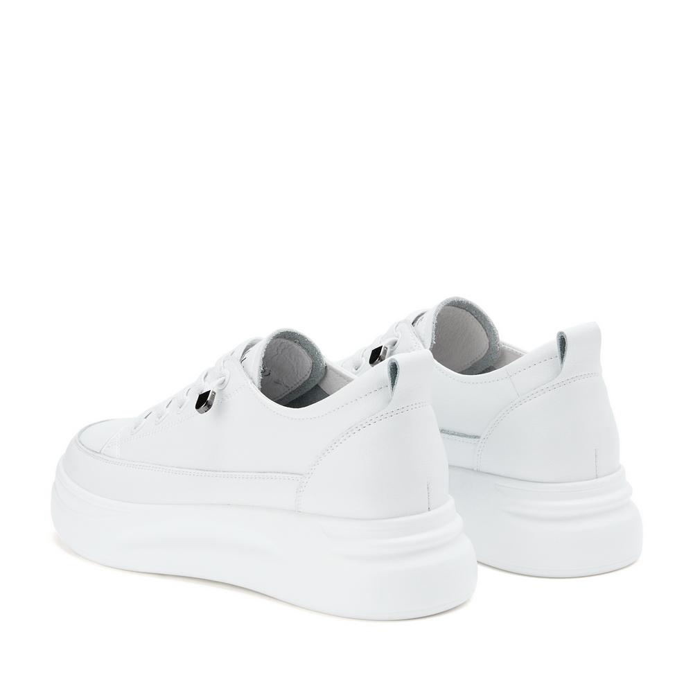 U8N1DAM0 春季新品商场同款松糕厚底休闲板鞋 2020 聚百丽小白鞋女