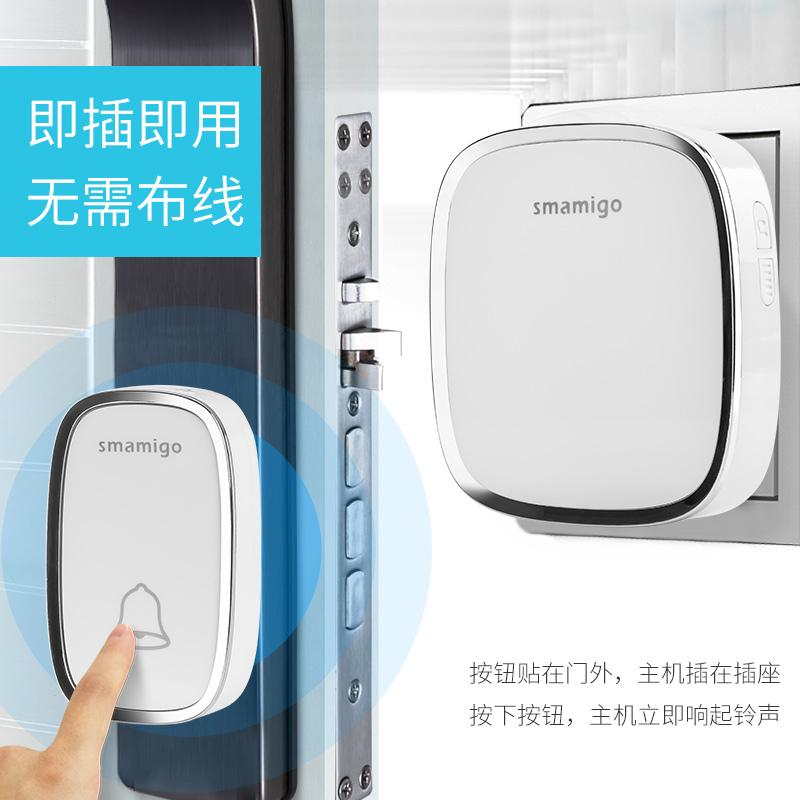 门铃无线家用超远距离穿墙一拖一拖二智能遥控电子老人呼叫器电铃