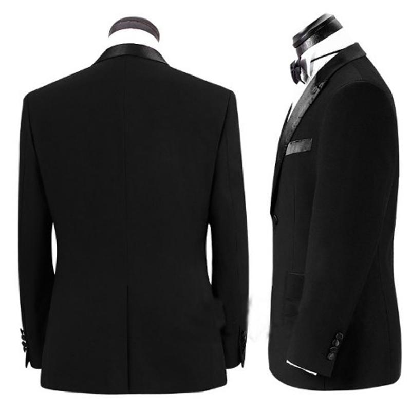 2016新款男士修身新郎结婚礼服司仪主持演出西装影楼婚礼西服套装