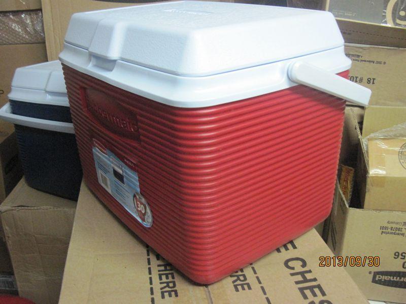 包邮美国乐柏美保温保冰箱22.7L 24QT车载冰箱车家两用冷藏箱2A13