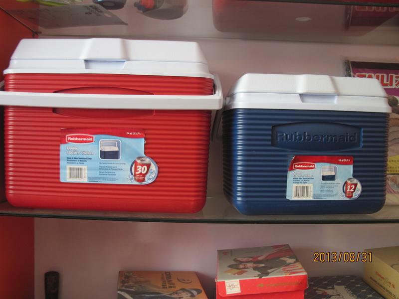美国乐柏美保温保冰箱9.5L 10QT车载冰箱车家两用车用冷藏箱2A11