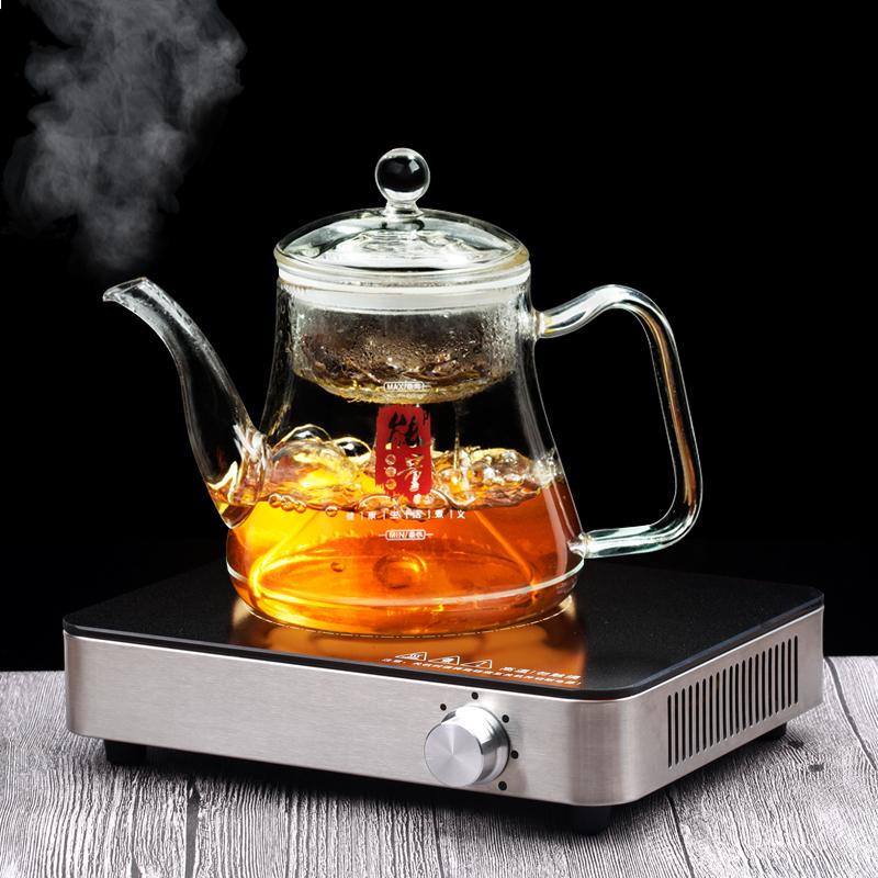 迷你静音电陶炉茶炉家用玻璃泡茶壶煮茶器非棱波电磁炉小型火锅炉