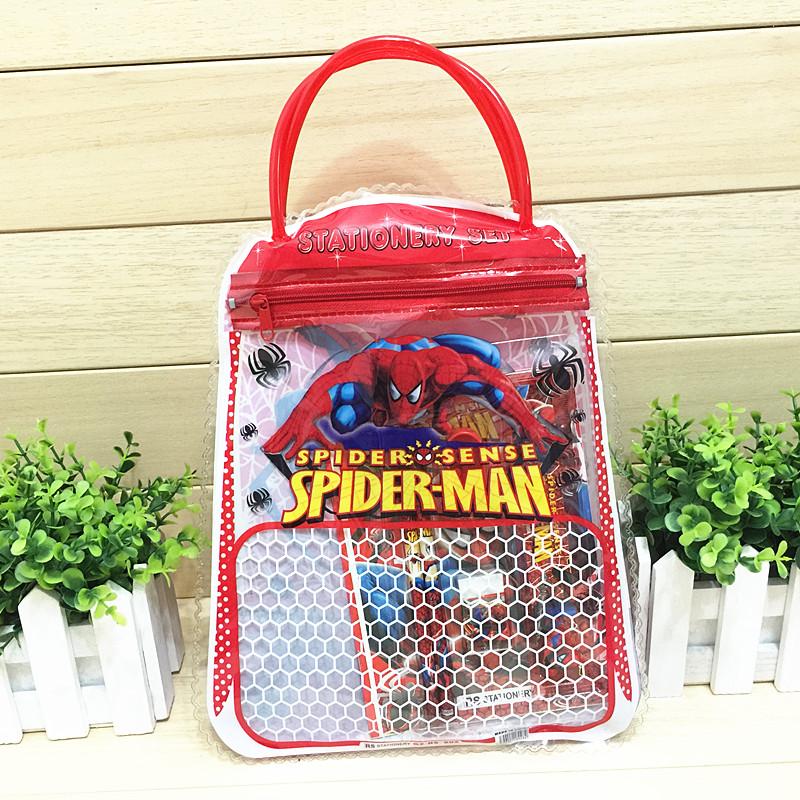 儿童新款手拎笔袋文具套装 幼儿园学生儿童生日圣诞礼物奖品包邮