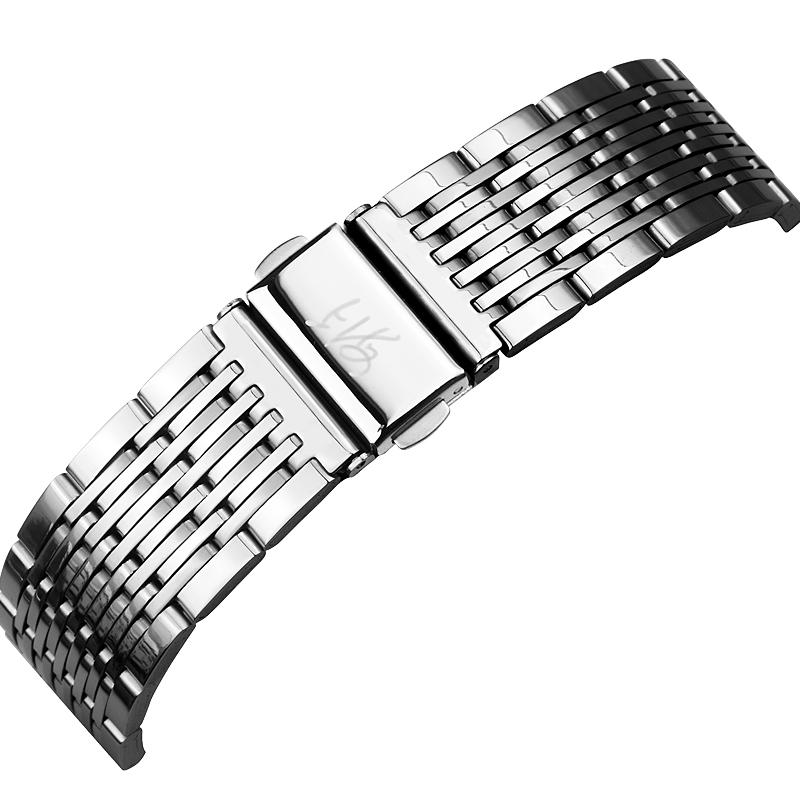 上海手表男石英表正品防水钢带 日历国产潮流休闲男士手表腕表  177