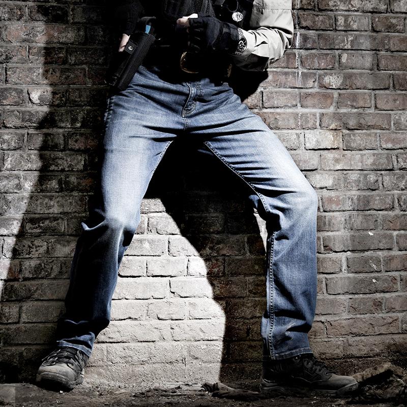 龙牙隐锋者战术牛仔裤男宽松直筒户外弹力修身战术裤男铁血君品行