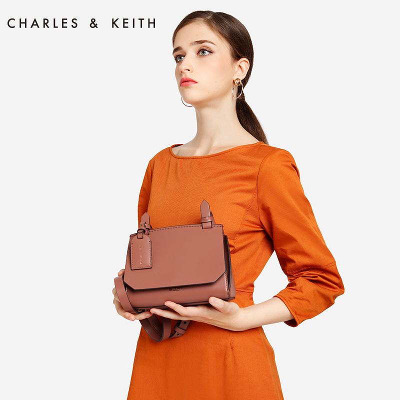 欧美纯色翻盖女士单肩包 80780698 CK2 单肩包 KEITH & CHARLES