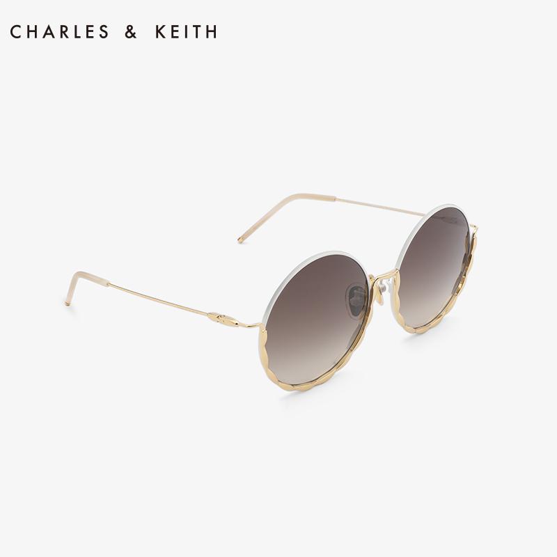 欧美金属圆形边框饰女士墨镜 31280342 CK3 太阳镜 KEITH & CHARLES