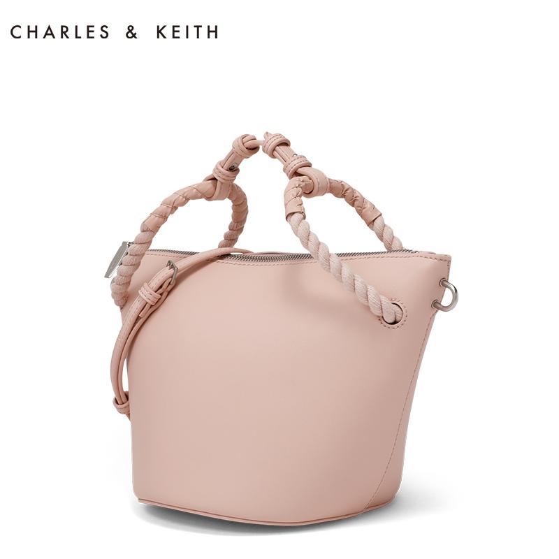 绳环装饰倒梯形多功能女包 50780575 CK2 单肩包 KEITH & CHARLES