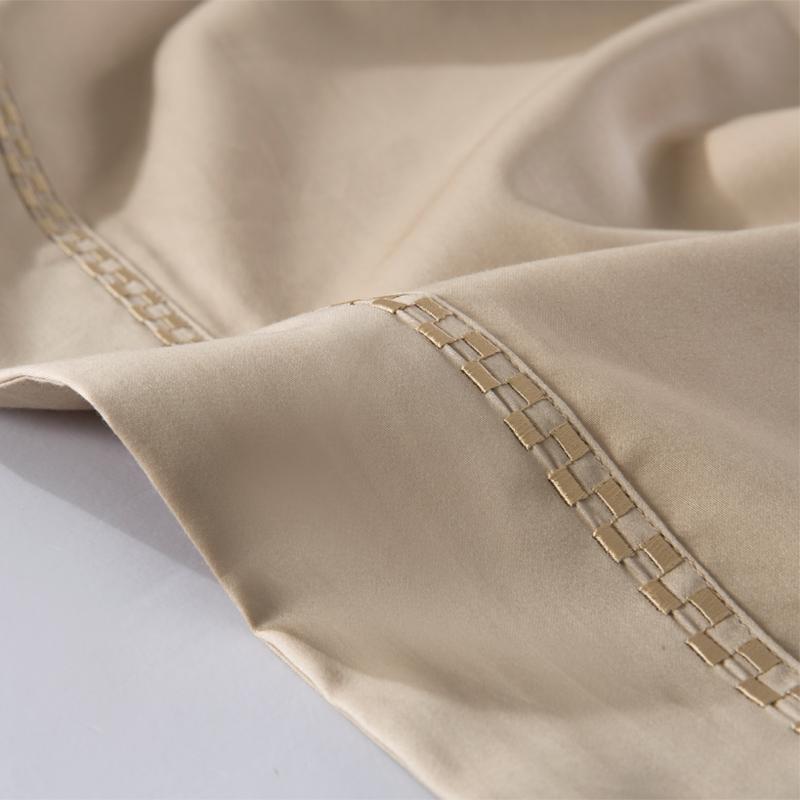 60支全棉贡缎夏天床单单件纯棉纯色1.5/1.8m床单人双人2.0米被单