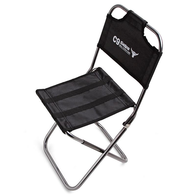 包郵韓國Selpa戶外摺疊凳子便攜燒烤椅釣魚椅摺疊椅子馬紮火車凳