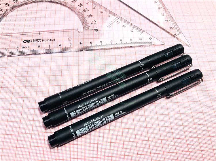 0.3 0.2 0.5双线笔 双线绘图笔 双头针管笔 注册建筑师考试 包邮