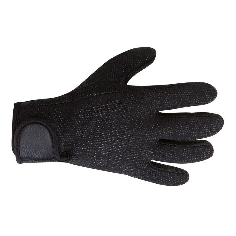 飞鱼游泳潜水手套耐磨颗粒防刮防滑 防刮划保暖手套装备  浮潜手套