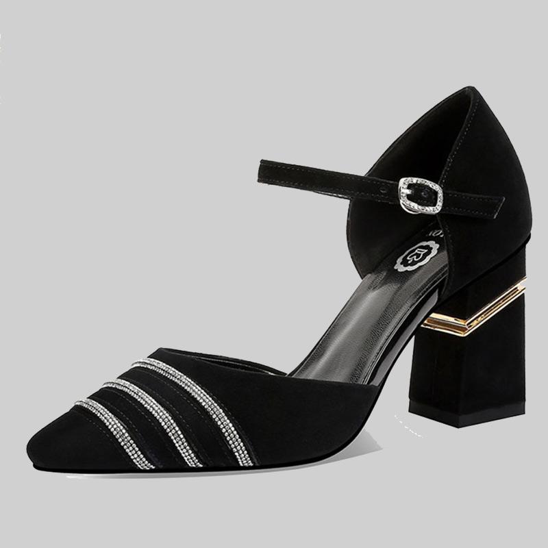 靓丽·莎龙品牌捡漏清仓处理凉鞋尾货捡漏真皮女鞋断码折扣正品主图