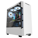 Chassis HuntKey GX580H desktop chassis gaming chassis back line through the whole side glass enclosure